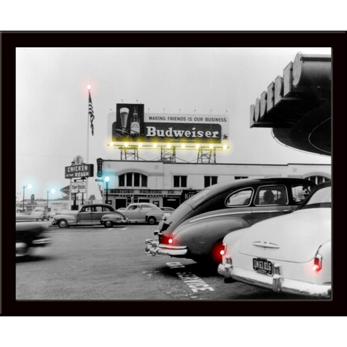 Budweiser neon picture