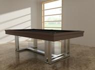 Trillium Pool Table – Trillium Billiard Table by Imperial 8' - 8ft - 8 Foot – Charcoal - IMP-TRI08CHS - 691037436186