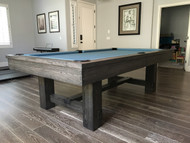 Reno Pool Table – Reno Billiard Table by Imperial 8' - 8ft - 8 Foot – Gauntlet Gray - IMP-REN08CGG