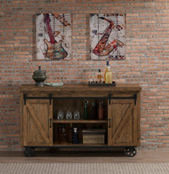 Gateway Bar Cart | American Heritage Billiards Gateway Bar Cart | Reclaimed Wood Finish | 600090RC