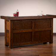 Savannah Bar | American Heritage Billiards Savannah Bar | Savannah Home Bar | Mahogany Finish | 600098MAH