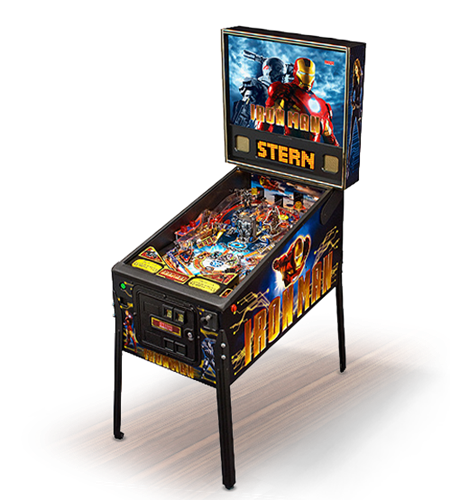 Iron Man Pinball Machine