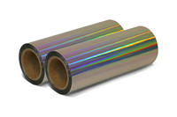 LuxeFilms® Rainbow Holografik™ Metalized - Printable Laminate Film