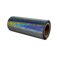 Sparkle Holographic Metalized Sleeking Foil