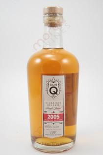 Don Q Single Barrel Signature Release Limited Edition Rum 750ml