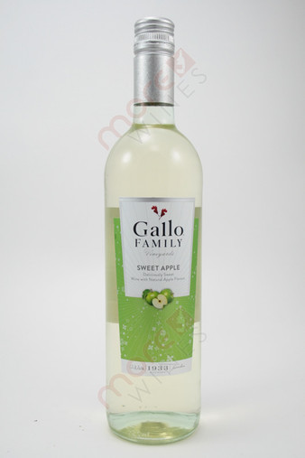 Gallo Family Vineyards Sweet Apple 750ml