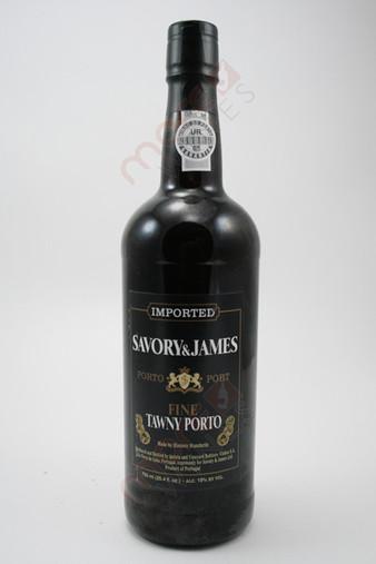 Savory & James Tawny Port 750ml