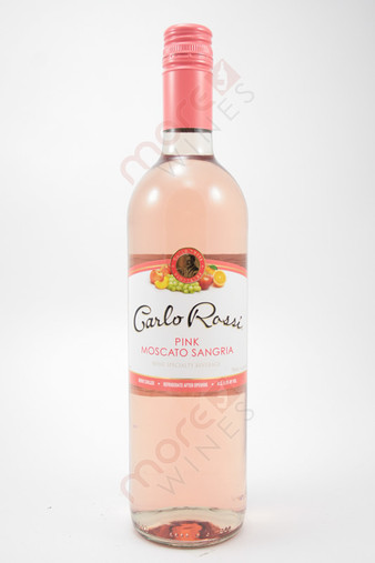 Carlo Rossi Pink Moscato Sangria 750ml