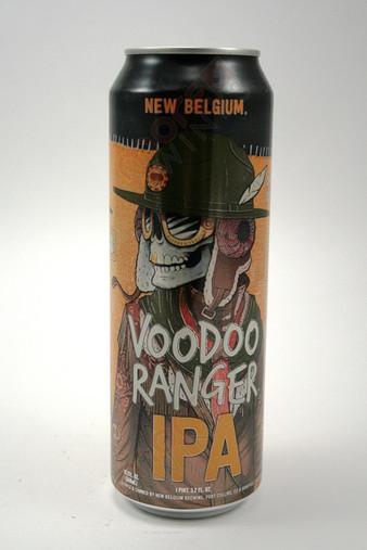 New Belgium VooDoo Ranger IPA 19.2 oz