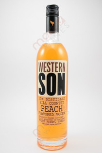 Western Son Hill Country Peach Vodka 750ml