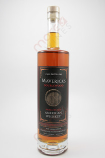 Mavericks Doublewood Small Batch American Whiskey 750ml