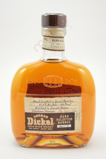 George Dickel Hand Selected Barrel 9 Years Tennessee Whisky 750ml
