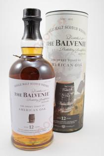The Balvenie 'Story No 1 The Sweet Toast of American Oak' 12 Year Old Single Malt Scotch Whisky 750ml
