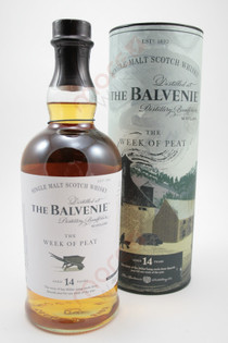 The Balvenie 'Story No 2 The Week of Peat' 14 Year Old Single Malt Scotch Whisky 750ml