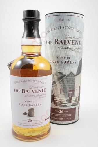 The Balvenie 'Story No 3 'A Day of Dark Barley' 26 Year Old Single Malt Scotch Whisky 750ml