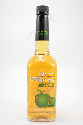 Evan Williams Apple Flavored Whiskey 750ml
