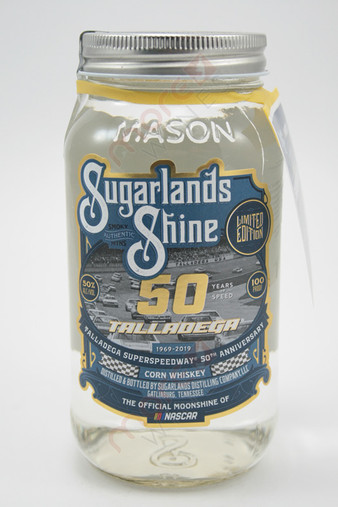 Sugarlands Shine Talladega Superspeedway 50th anniversary Corn Whiskey 750ml