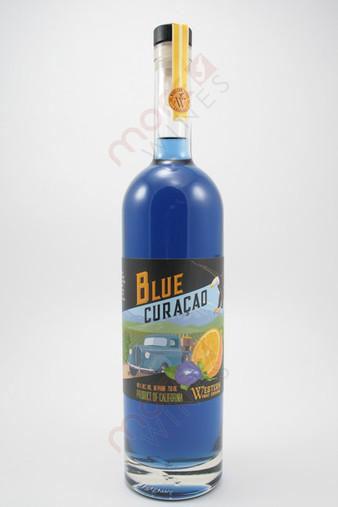 Western Fruit Exchange Blue Curacao 750ml