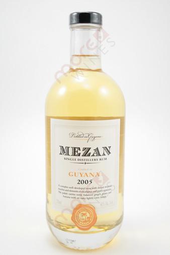 Mezan Guyana Single Distillery Rum 750ml