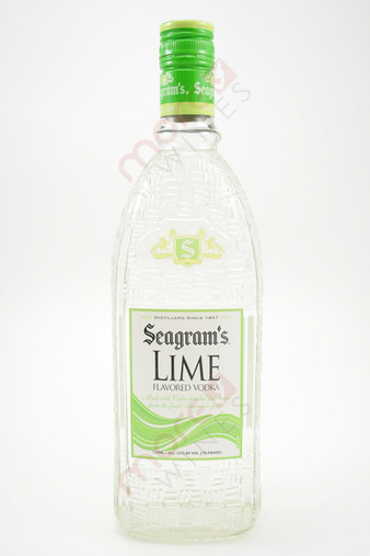 Seagram's Lime Flavored Vodka 750ml