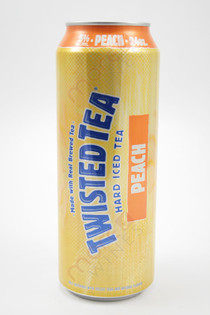 Twisted Tea Peach Hard Iced Tea 24oz