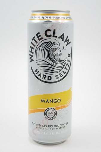 White Claw Mango Hard Seltzer 19.2oz