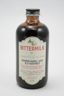 Bittermilk No 1 Bourbon Barrel Aged Old Fashioned Cocktail Mixer 8.5oz