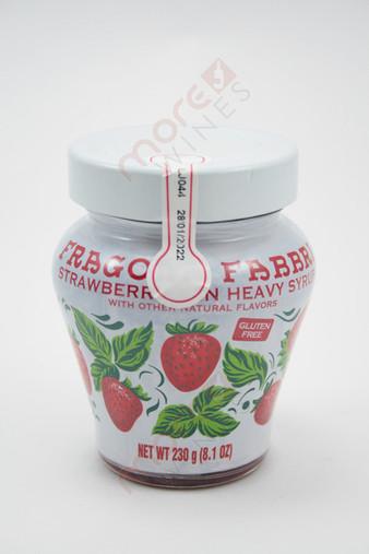 Fragola Fabbri Strawberry in Heavy Syrup 8.1oz