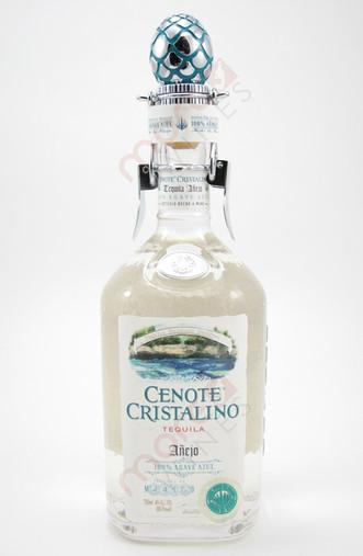 Cenote Tequila Anejo Cristalino 750ml