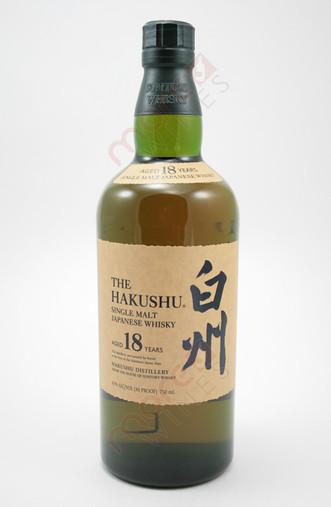 The Hakushu 18 Year Old Single Malt Whisky 750ml
