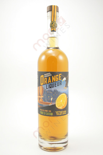 Western Fruit Exchange Barrel Reserve Orange Liqueur 750ml