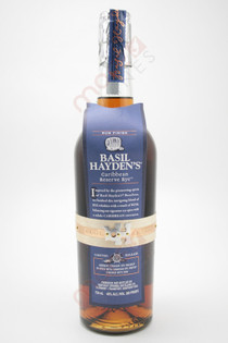 Basil Hayden's Caribbean Reserve Rye Whiskey 750ml