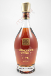 1991 Glenmorangie Grand Vintage Single Malt Scotch Whisky 750ml