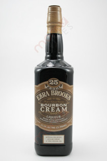 Ezra Brooks Bourbon Cream Liqueur 750ml