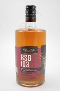 Heritage BSB 103 Proof High Altitude Brown Sugar Bourbon 750ml
