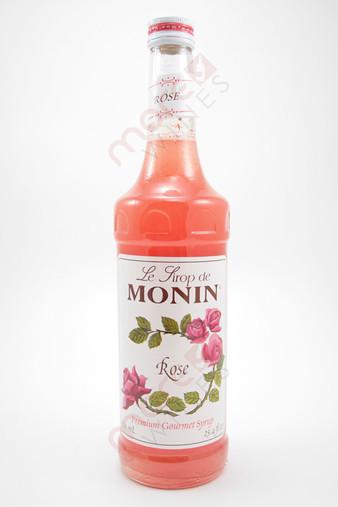 Monin Rose Syrup 750ml