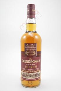 Glendronach Original 12 Year Old Single Malt Scotch Whisky 750ml