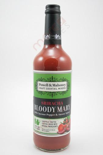 Powell & Mahoney Sriracha Bloody Mary Cocktail Mixer 750ml
