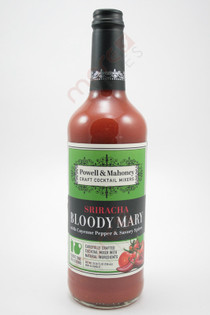 Powell & Mahoney Sriracha Bloody Mary Cocktail Mixer 750ml