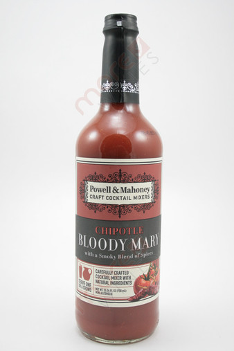 Powell & Mahoney Chipotle Bloody Mary Cocktail Mixer 750ml