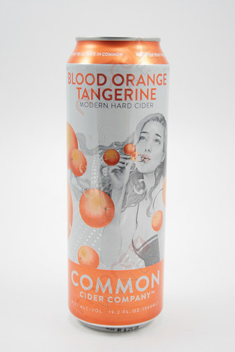 Common Cider Company Blood Orange Tangerine Hard Apple Cider 19.2 oz