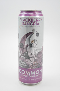 Common Cider Company 'Blackberry Sangria' Cider 19.2oz