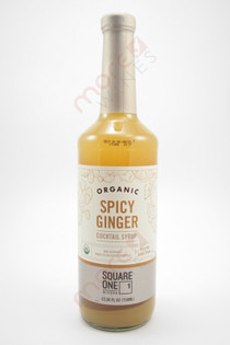 Square One Spicy Ginger Cocktail Syrup 750ml