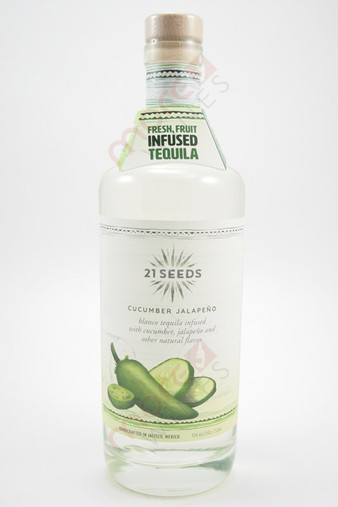 21 Seeds Cucumber Jalapeno Infused Tequila 750ml