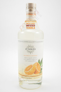 21 Seeds Valencia Orange Infused Tequila 750ml