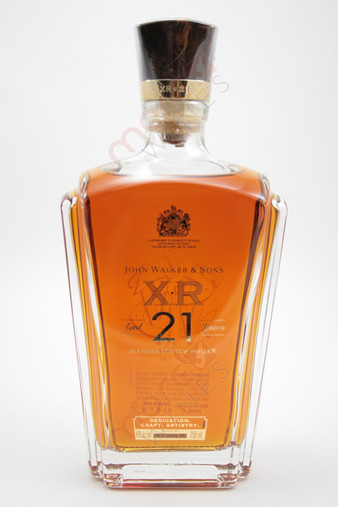 Johnnie Walker XR 21 Year Old Blended Scotch Whisky 750ml
