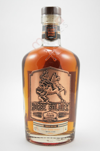 Horse Soldier Premium Straight Bourbon Whiskey 750ml