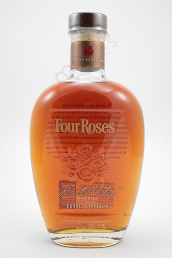 Four Roses 2019 Limited Edition Small Batch Barrel Strength Kentucky Straight Bourbon Whiskey 750ml