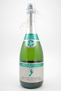 Barefoot Bubbly Moscato Spumante Champagne 750ml
