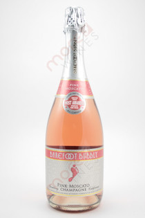 Barefoot Bubbly Pink Moscato Sparkling Wine 750ml